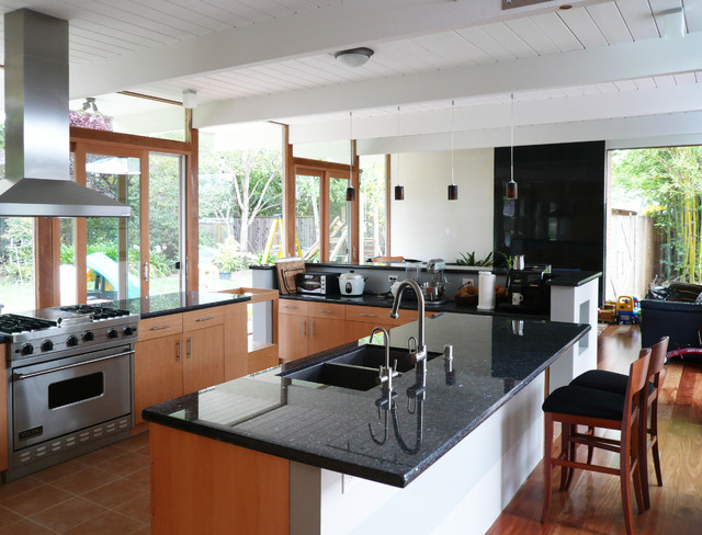 Klopf Architecture Eichler Kitchen Remodel
