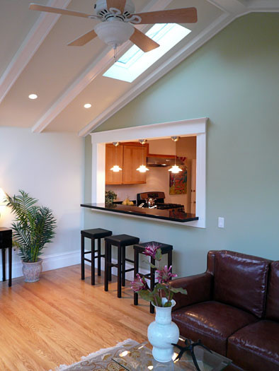 Klopf Architecture Kitchen With Skylight Traditional Kitchen San Francisco By Klopf