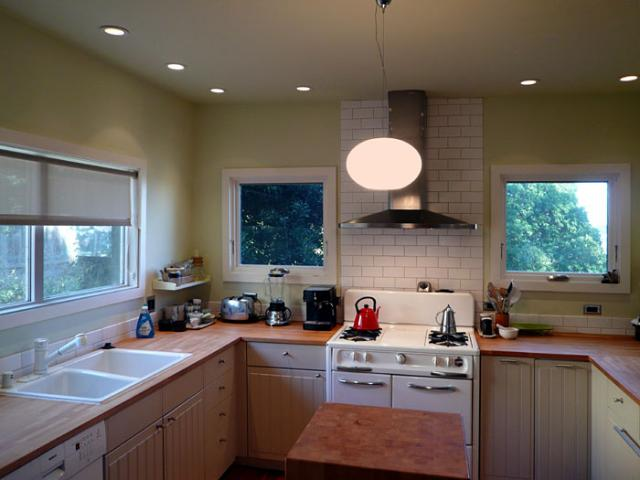 Klopf Architecture - Remodeled Kitchen eclectic-kitchen