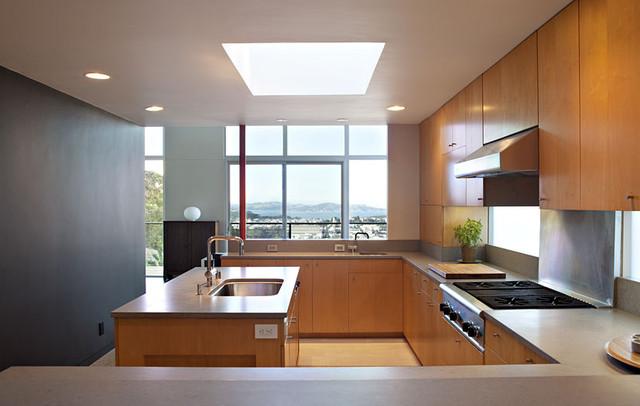 Klopf architecture san francisco mid century modern for Kitchen remodel san francisco