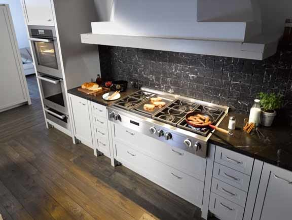 """KMR 1356 48"""" Rangetop w/ Griddle - Contemporary - Kitchen ..."""