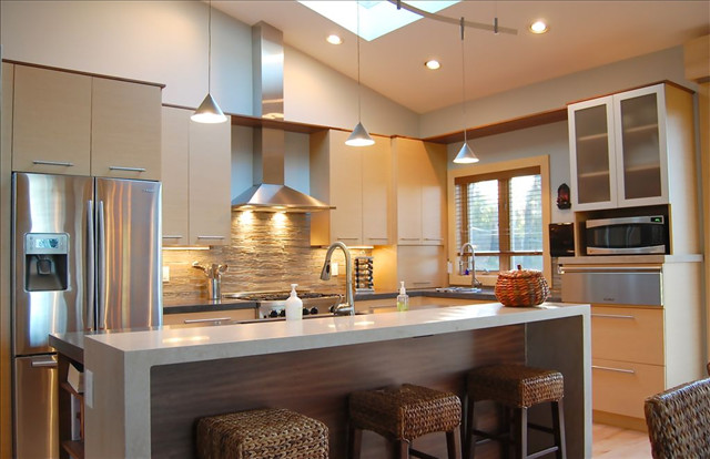 Knight House Contemporary Kitchen Other By Jeannie Kowing Design Llc