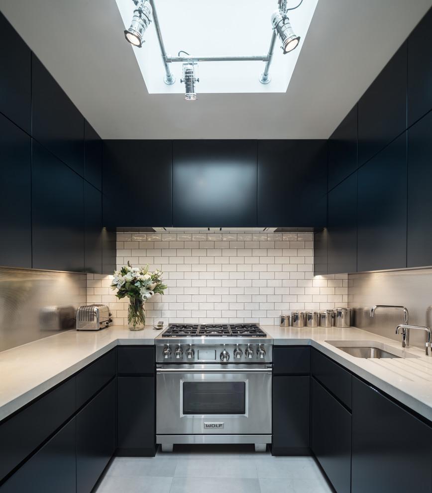 Knightsbridge Mews - Modern - Kitchen - London - by Norton ...