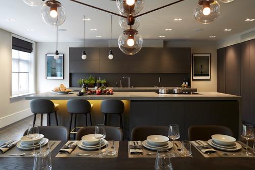Cucine Moderne Scure: 10 Esempi Meravigliosi