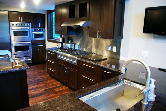 Knolls Home contemporary-kitchen