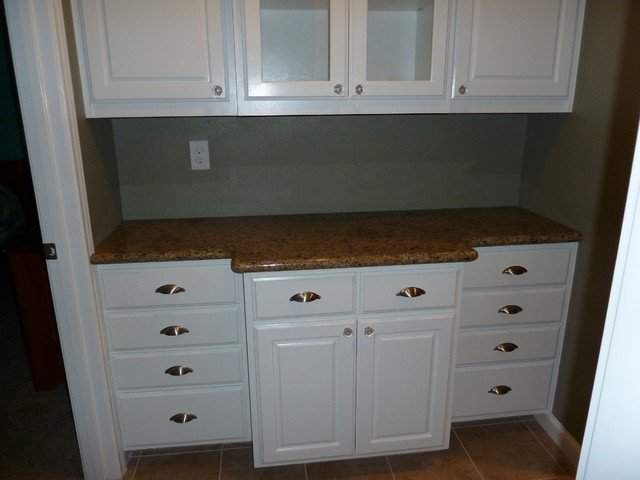 Knotty Alder Cabinets - Eclectic - Kitchen - Other - by ...
