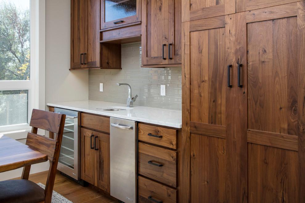 Knotty Walnut Kitchen - Traditional - Kitchen - Other - by ...