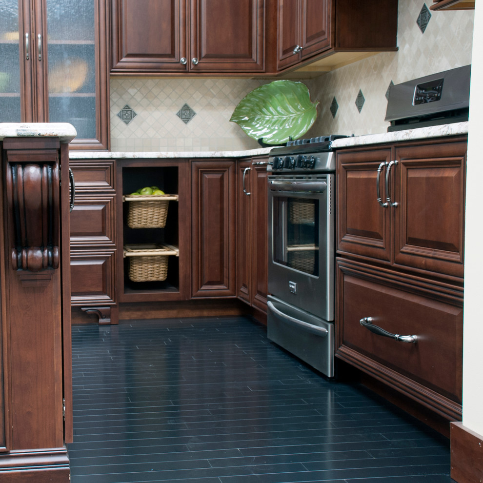Koch Cabinets - Traditional - Kitchen - New York - by ...