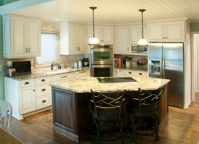 Koch Cabinets - Traditional - Kitchen - other metro - by Kinetic Kitchen and Bath
