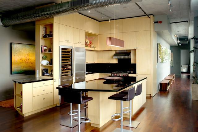 Koehler Loft - Kitchen modern-kitchen
