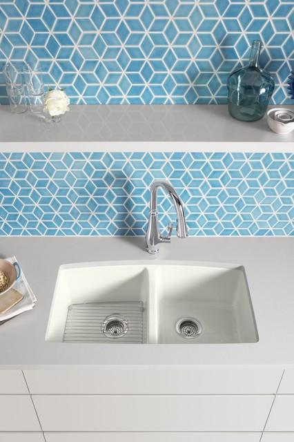 KOHLERu0027s Brookfield Kitchen Sink Kitchen