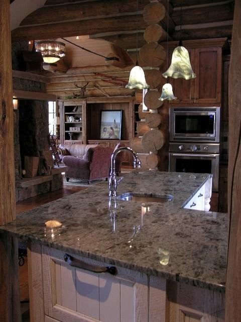 Koselig Log Cabin Interior Photo