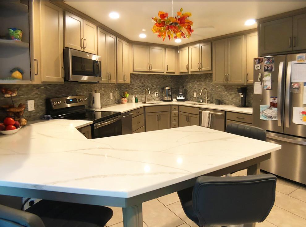 Kosher Condo Kitchen & New Workroom in Baltimore