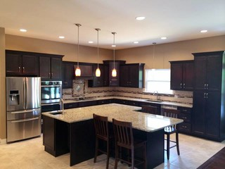 Kountry Wood Products Amish Made Cabinetry Contemporary Kitchen St Louis By Norm S Bargain Barn