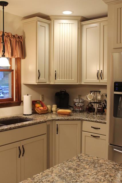 Kraftmaid Alexis/Briarwood Maple Mushroom Kitchen ...