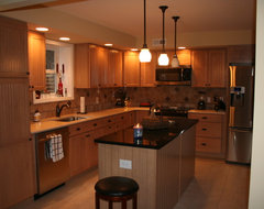 Kraftmaid Briarwood - Beem traditional-kitchen