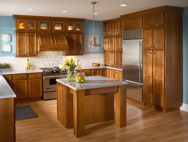 Kraftmaid Cabinetry Rustic Kitchen Other By