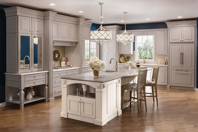 Kraftmaid Cabinetry from #Lowes - Traditional - Kitchen - los angeles - by Lowe's - Moreno ...