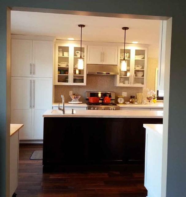Kraftmaid White Kitchen Cabinets: Kraftmaid Deveron Maple And Cherry