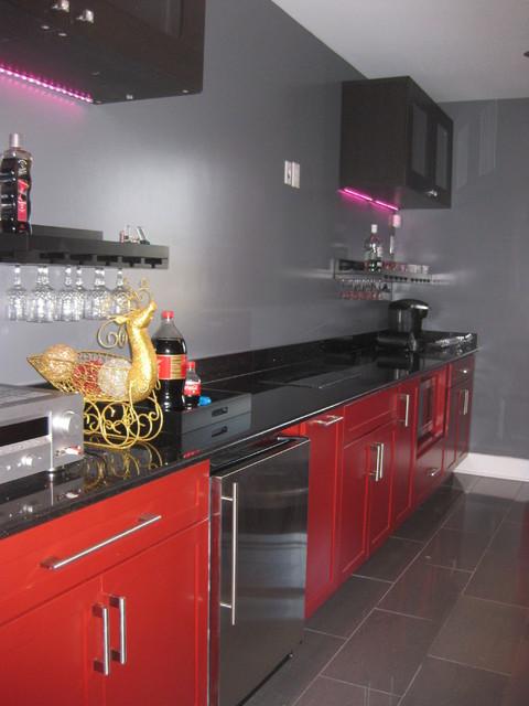 Kraftmaid Deveron Maple in Cardinal modern-kitchen