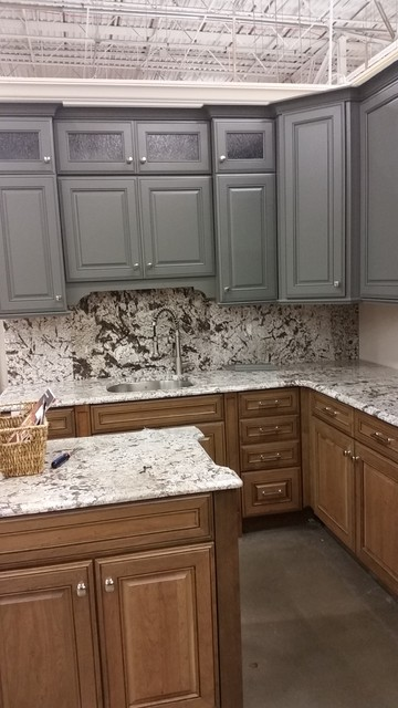 Kitchen Cabinet Jackson kraftmaid jackson maple and jackson cherry