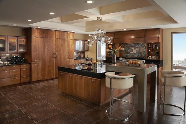 KraftMaid Kitchen & Bathroom Cabinets Gallery | Kitchen Cabinet Kings - Modern - Kitchen - New ...