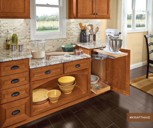 Kitchen Cabinets Kraftmaid: KraftMaid: Small Appliance Storage