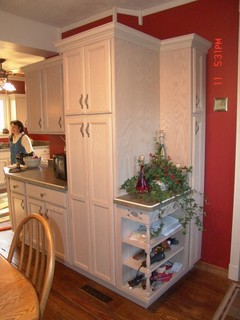 wooden cabinets for kitchen kraftmaid wickstrom maple eclectic kitchen chicago 1615