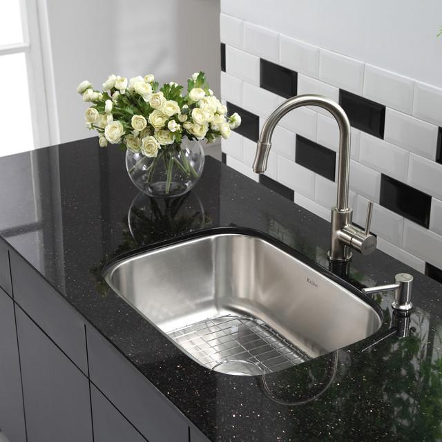 Kraus Stainless Steel Kitchen Sinks Collection modern-kitchen