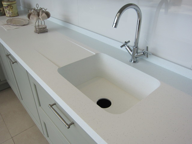 KRION Kitckens Worktop - Contemporary - Kitchen - Glasgow - by KRION ...
