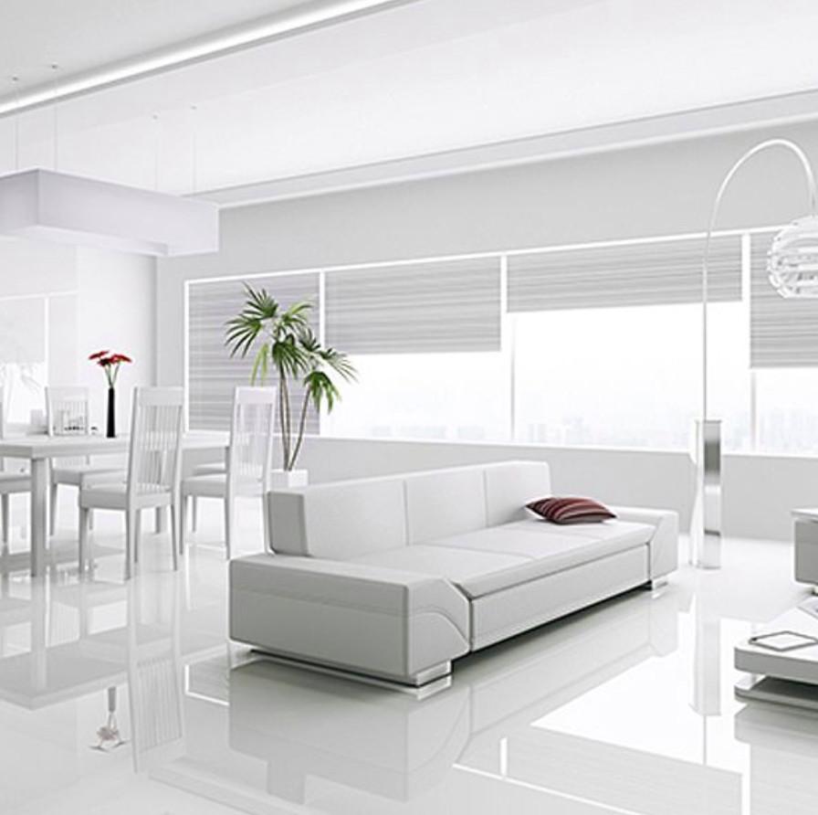 Kronotex Gloss White Laminate Tiles, Super Gloss White Laminate Flooring
