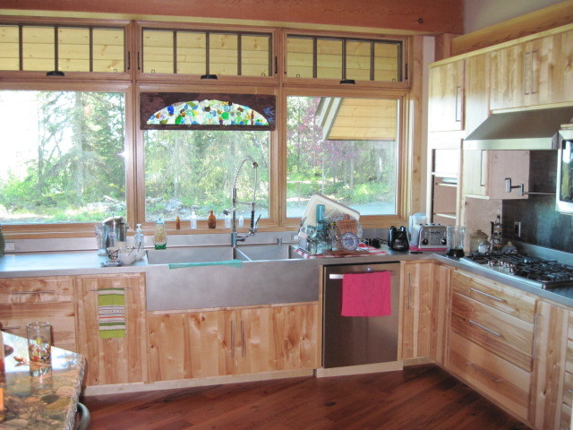 Krull House eclectic-kitchen