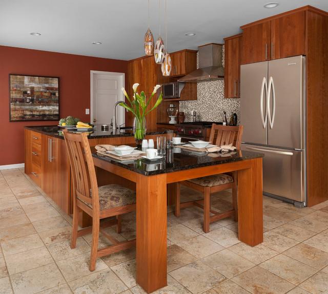 ... Wilson - Contemporary - Kitchen - other metro - by KSI Kitchen & Bath