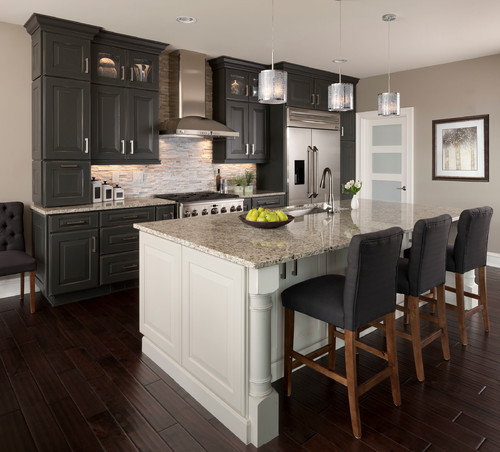GE Monogram Kitchen - Photo by KSI Kitchen & Bath:  Courtesy of Houzz