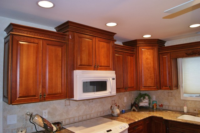 L-Shape Kitchen Renovation traditional-kitchen