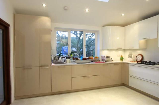 L Shaped Kitchen By Lwk Kitchens London Modern Kitchen