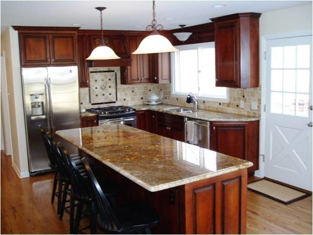 L shaped kitchen remodels traditional kitchen other for Basic kitchen remodel ideas