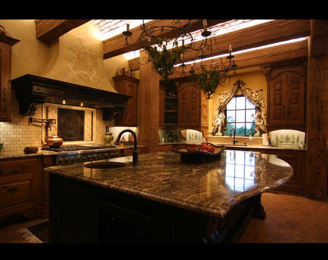 La Bastide de Moustiers traditional-kitchen