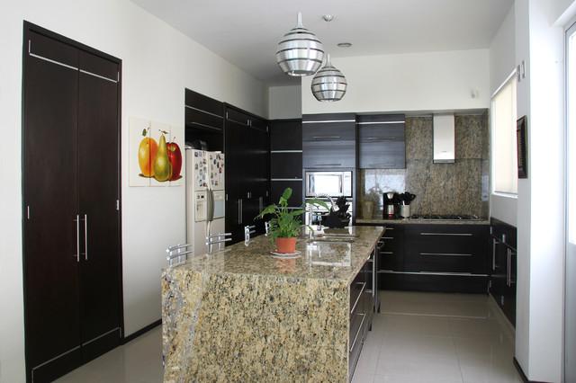 Modern kitchen cocina moderna modern kitchen - Houzz cocinas ...