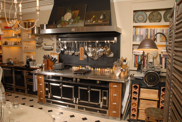 La Cornue Eclectic Kitchen
