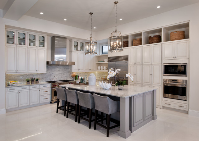 Good La Costa In Naples FL Transitional Kitchen Tampa By Marc Michaels In