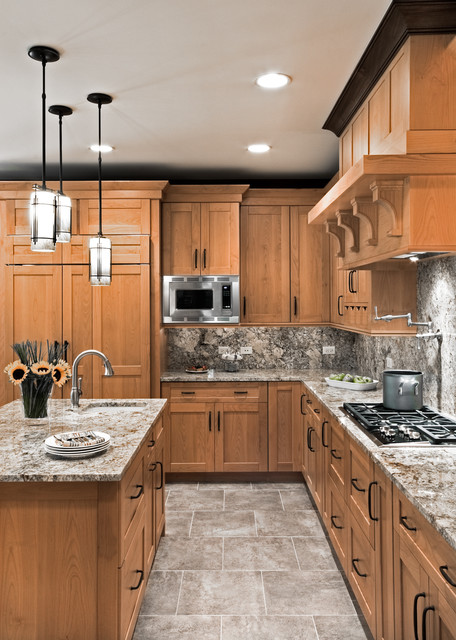 rustic kitchen cabinets la grange kitchen transitional kitchen chicago by 2051