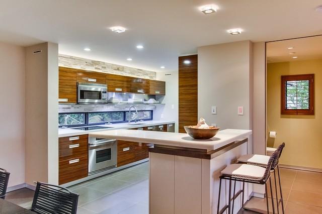La Jolla Contemporary contemporary-kitchen