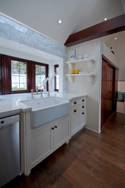 La Jolla Residence: Kitchen transitional-kitchen