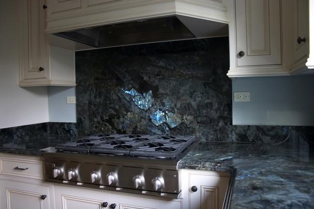 LABRADORITE LEMURIAN KITCHEN - Contemporary - Kitchen - san francisco - by PIETRA FINA, Inc.