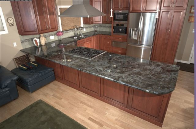 LABRADORITE LEMURIAN KITCHEN Contemporary Kitchen