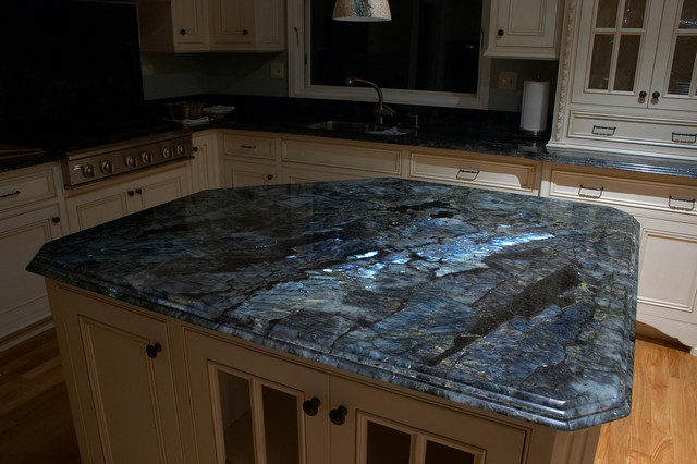 LABRADORITE LEMURIAN KITCHEN - Contemporary - Kitchen - san francisco ...