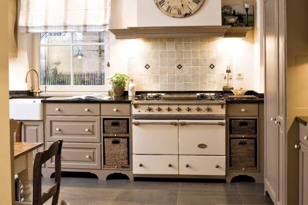 Lacanche cluny range cooker in ivory contemporary - Piano de cuisine la cornue ...