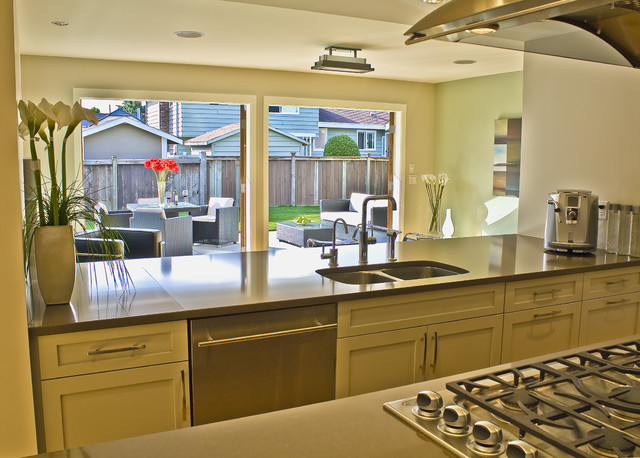 ladner contemporary contemporary kitchen