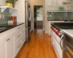 Lady Fern Circle Kitchen transitional-kitchen